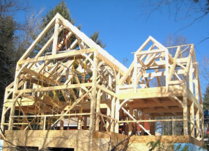 Timberpeg Timber Frame Home